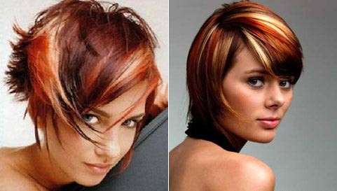 Американское мелирование волос
