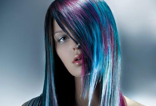 Креативное мелирование волос