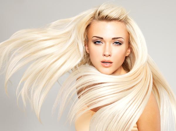 Обратное мелирование волос