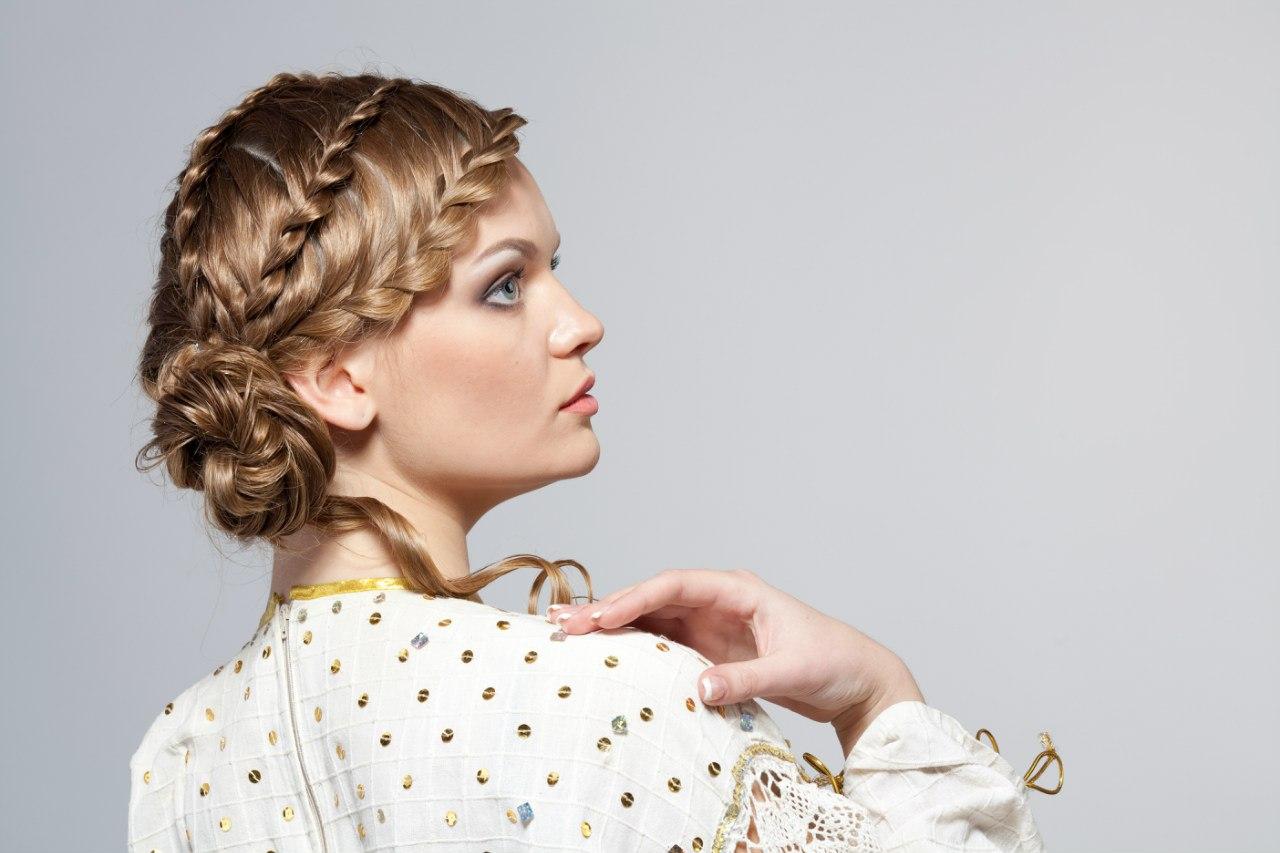 Плетение волос косами