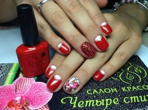Наращивание ногтей в салоне красоты <<Четыре стихии>>