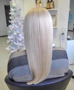 Оттеночное тонирование волос