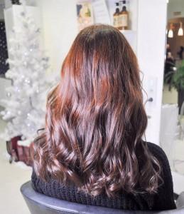 Стрижка и тонирование волос