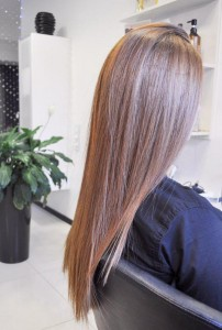 Ботокс и стрижка волос